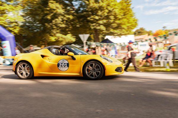 Alfa Romeo 4C in Yarra Valley Italian Festival
