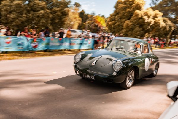 Porsche 356 in Yarra Valley Italian Festival